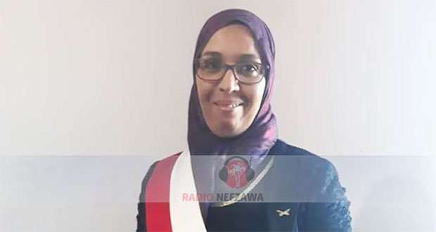 رئيسة بلدية بشلي_الجرسين _ البليدات