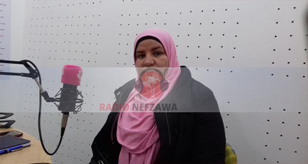 نائبة رئيس بلدية جمنة : انشاء المشاريع