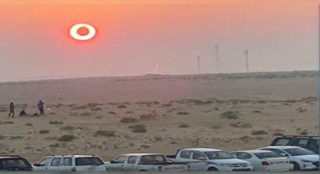 النهار ينقلب إلى ليل في السعودية و عدد من الدول الأخرى اليوم