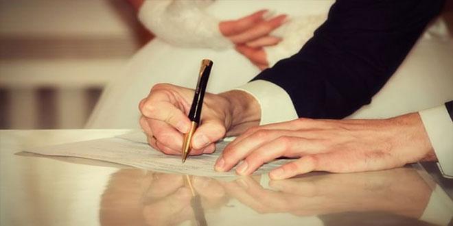 كورونا: عقود الزواج بحضور الزوجين و الشاهدين..فقط !