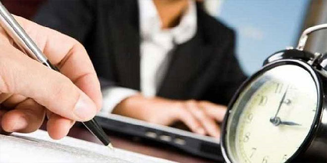 مشروع تقييم نظام و توقيت العمل الإداري.. إطلاق استشارات على الخط   (بلاغ)