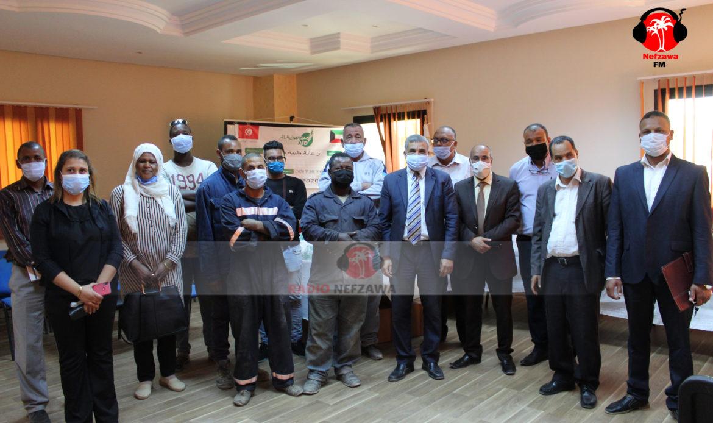 جمعية العون المباشر الكويتية مكتب تونس: مساعدات لبلدية قبلي في ظل جائحة كورونا (صور)