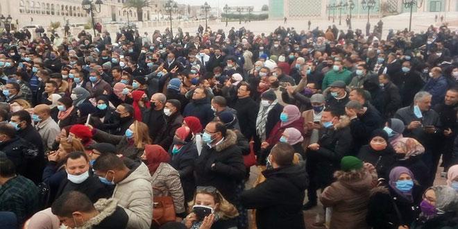 القيمون و القيمون العامون :غضب وطني بساحة القصبة و دخول في إضراب مفتوح.