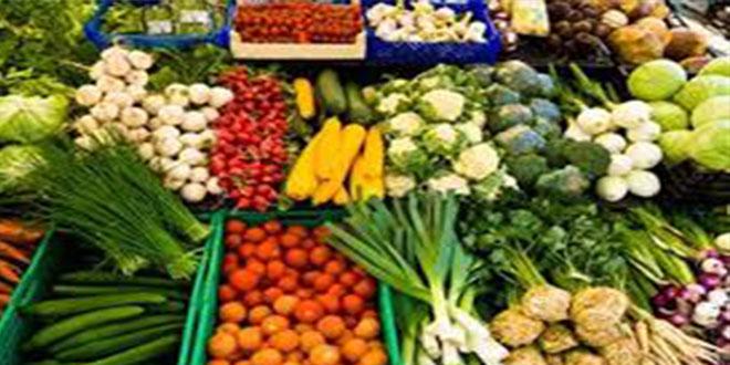 """اسعار الخضر و الغلال من سوق """"البياز"""" اليوم ."""