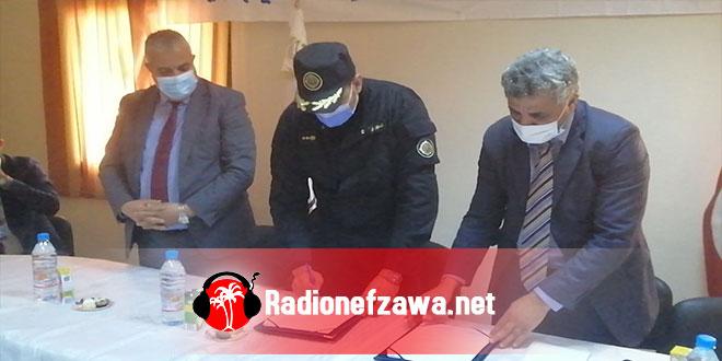 قبلي:اتفاقية شراكة بين البلدية و المؤسسة السجنية لتشغيل المساجين (صور)